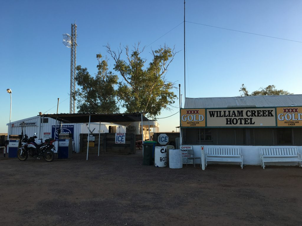 William Creek in the Morning. First Stop