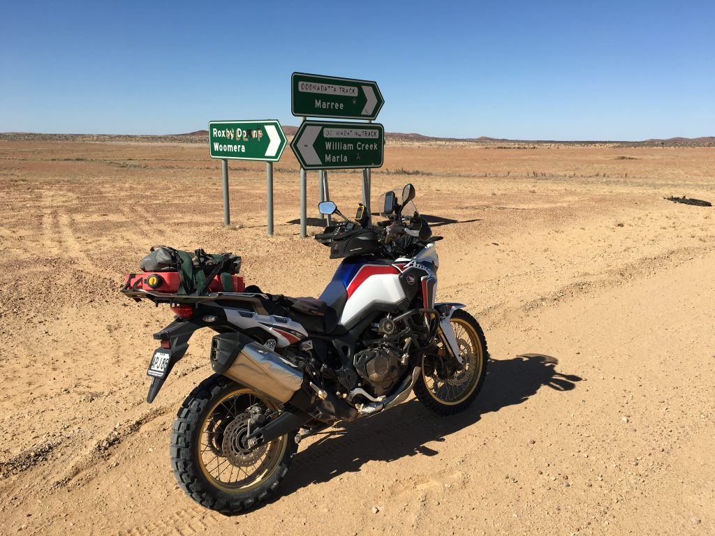 Dusty Butt Corner for the Ride: Oodnadatta Trak